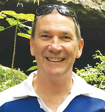 Physiotherapist Michael Hayward