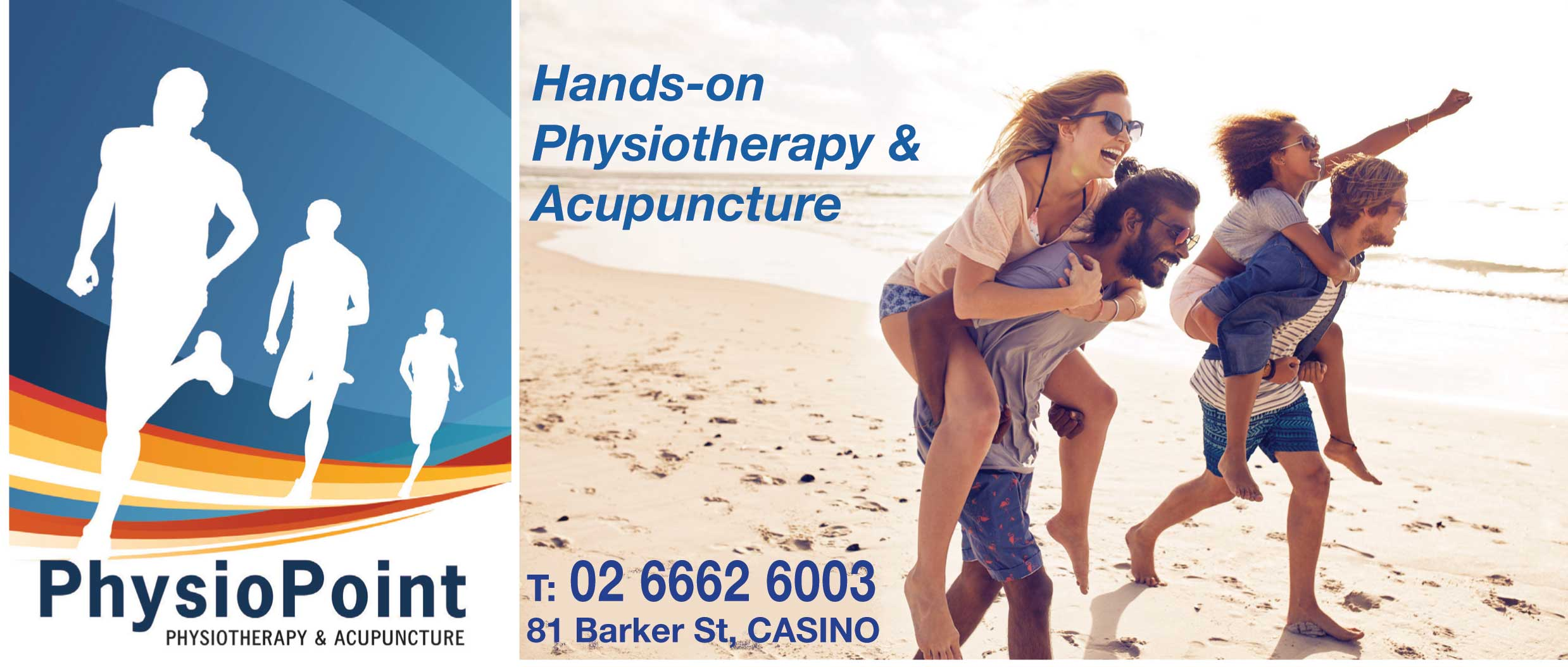 Effective hands on physiotherapy and acupuncture from PhysioPoint physiotherapy and acupuncture in Casino NSW