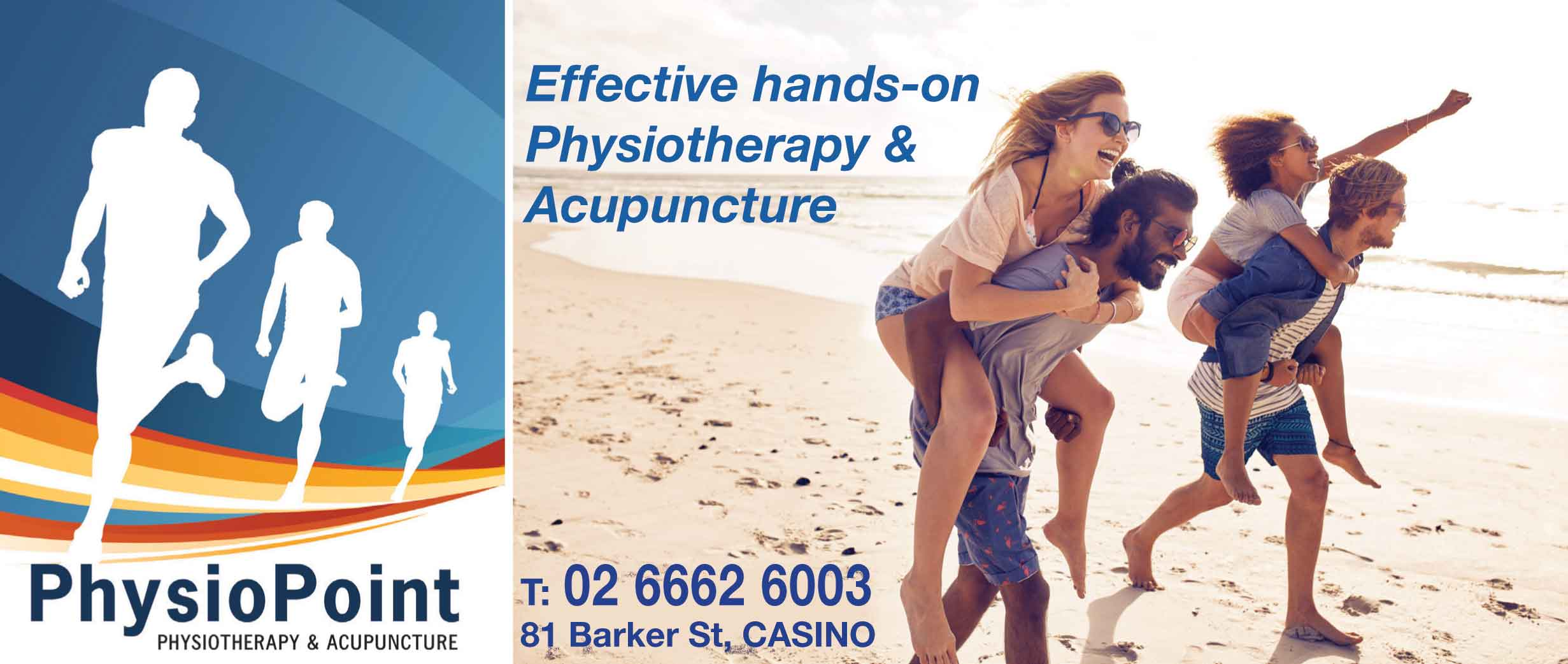 Physiotherapy Casino - Physiotherapist Casino - Acupuncture